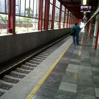 Photo taken at Tren Suburbano San Rafael by Mike G. on 8/17/2012