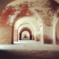 Photo taken at Fort Pulaski by Christopher E. on 2/16/2012
