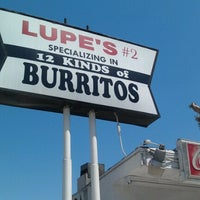 Photo taken at Lupe's #2 by Christopher G. on 8/11/2012