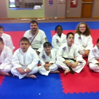Photo taken at Master Rousseau's Taekwondo, England Airpark by Carol R. on 4/5/2012