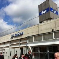 Photo taken at Station Arnhem Centraal by Lea v. on 4/19/2012