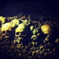 Photo taken at Catacombs of Paris by Daniel M. on 8/19/2012