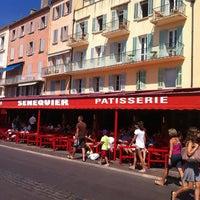 Photo taken at Senequier by Eric on 8/16/2012