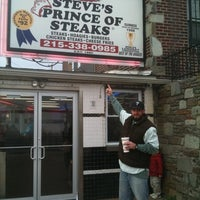 Photo taken at Steve's Prince of Steaks by John C. on 3/14/2011