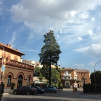 Photo taken at Stazione S. Anna FCU by ik0mmi a. on 8/16/2012
