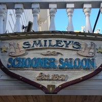Photo taken at Smileys Schooner Saloon and Hotel by Michael D. on 6/10/2012