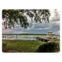 Photo taken at Skull Creek Boathouse by Mandi C. on 5/13/2012
