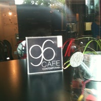 Photo taken at 96 Cafe Contemporain by Léo L. on 5/20/2012