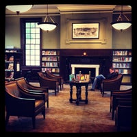 Photo taken at DC Public Library - Georgetown by Laetitia B. on 4/28/2012
