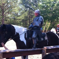 Photo taken at Sherwood Forest Faire by Helen T. on 4/1/2012