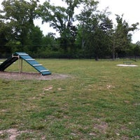Photo taken at Heritage Dog Park by Caleb S. on 4/20/2012
