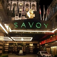 Photo taken at The Savoy Grill by John G. on 9/25/2011