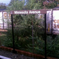 Photo taken at Minnesota Avenue Metro Station by Tyrone B. on 10/26/2011