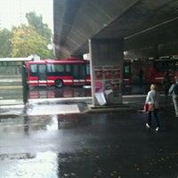 Photo taken at Farsta Busstorg (B) by Brommabo on 9/7/2011