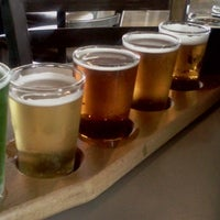 Photo taken at Carolina Brewery & Grill by Pittsboro-Siler City Convention & Visitors Bureau on 3/16/2012