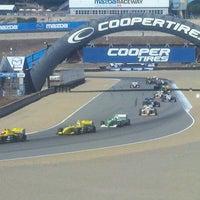 Das Foto wurde bei Mazda Raceway Laguna Seca von Chris B. am 9/18/2011 aufgenommen