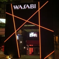 Photo taken at Wasabi Running Sushi & Wok Restaurant by Hiroaki Y. on 5/4/2012