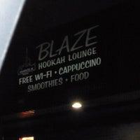 Photo taken at Blaze Hookah Lounge by John S. on 12/20/2011