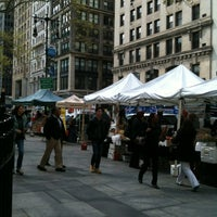 Photo taken at City Hall Greenmarket by jay on 4/10/2012