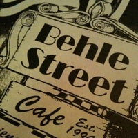 Photo taken at Behle Street Cafe by Kelly M. on 4/18/2011