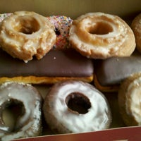 Photo taken at Top Pot Doughnuts by Jeff P. on 4/10/2011