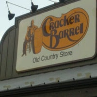 Photo taken at Cracker Barrel Old Country Store by Devin W. on 8/12/2012
