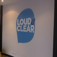 Photo taken at Loud & Clear Creative by Jadan L. on 7/6/2011