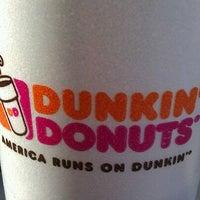 Photo taken at Dunkin Donuts by Karen B. on 10/22/2011
