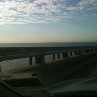 Photo taken at Lake Pontchartrain Causeway by Scott M. on 9/27/2011