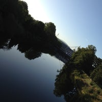 Photo taken at Millennium Bridge by Allan Blair B. on 9/5/2012