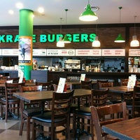 Photo taken at Kraze Burgers by Amanda H. on 3/8/2012