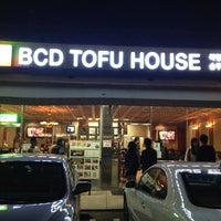 Photo taken at BCD Tofu House by Dave A. on 2/17/2012