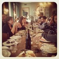 Photo taken at Brunswick House Cafe by Elliot H. on 9/13/2012