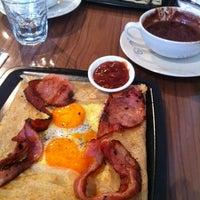Photo taken at Cafe Metsa by Brett H. on 4/17/2011