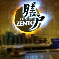 Photo taken at Sushi Zento by Joseph C. on 4/28/2012