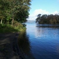 Photo taken at Loch Lomond by Iain M. on 9/24/2011