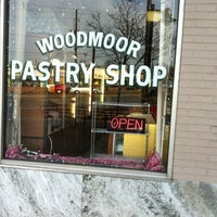 Photo taken at Woodmoor Pastry Shop by Moira O. on 1/24/2012