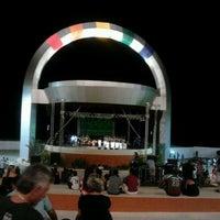 Photo taken at Anfiteatro da Ponta Negra by Jonas C. on 12/23/2011