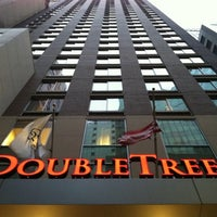 Photo taken at DoubleTree by Hilton Hotel New York City - Financial District by William D. on 3/16/2011
