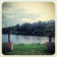 Photo taken at Vechtesee by Daniel O. on 8/6/2012