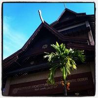 Photo taken at Kulliyyah of Architecture & Environmental Design (KAED) by Mye on 11/22/2011