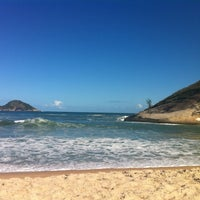 Photo taken at Praia de Grumari by Michelle J. on 11/2/2011