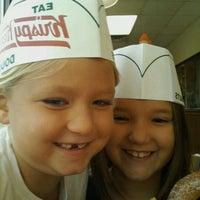 Photo taken at Krispy Kreme Doughnuts by Shannon L. on 10/14/2011