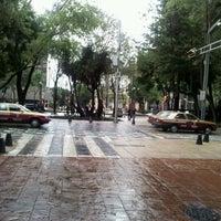Photo taken at Zona Rosa by Enrique V. on 9/4/2011