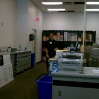 Photo taken at FedEx Office Print & Ship Center by Natasha D. on 10/2/2011