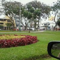 Photo taken at Parque de la Juventud by Christ M. on 9/7/2012