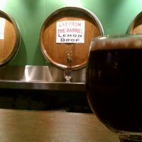 Photo taken at Cascade Brewing Barrel House by brent w. on 9/9/2011