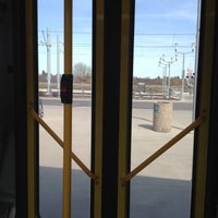 Photo taken at South Campus LRT Station by Adam W. on 5/12/2012