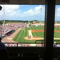 Photo taken at Roger Dean Stadium by Kevin on 3/22/2012