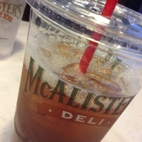 Photo taken at McAlister's Deli by Josh H. on 2/18/2012